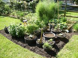 Garden Containers Large - 38 herb gardening in pots large format 19quot x 24quot size garden