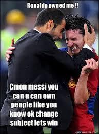 Funny Messi Memes - messi sucks memes quickmeme