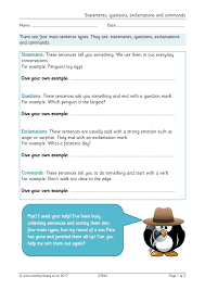 eyfs ks1 ks2 basic punctuation teachit primary
