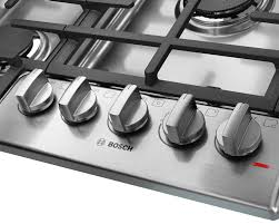Bosch 30 Electric Cooktop Bosch Ngm8055uc 31 Inch Gas Cooktop With Continuous Grates Led