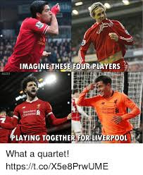 Meme Quartet - imagine these four piayers al123 stand standard chartered artered