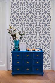 amazon com mansion house grille trellis medium wall stencil