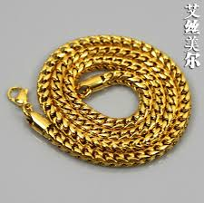 aliexpress buy men jewelry high quality 2014 new jhnby high quality gold color necklace w 2 4 6mm 76 90cm