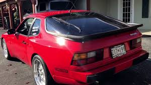 porsche 944 widebody 944 hybrid start up ls1 for sale youtube