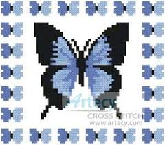 mini butterfly sler 2 pattern design cross stitch and butterfly