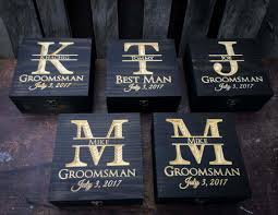 wedding gift keepsake box groomsmen gift set 5 12 gift set wedding gift set keepsake