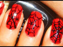 halloween nail art tutorial x spider webs x youtube