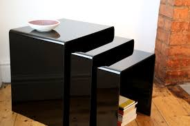 premium acrylic nest of tables direct from uk wrights gpx