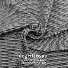 tissu canapé au mètre magnifique tissu effet tweed gris structuré trois couleurs