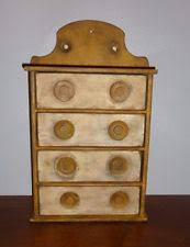 Cream Spice Rack Antique Spice Cabinet Ebay