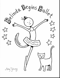 wonderful ballerina coloring pages printable ballet coloring