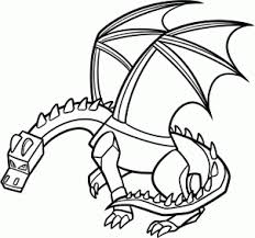 how to draw ender dragon step by step video game characters pop