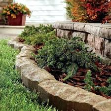 How To Build A Rock Garden Bed Flower Bed Border How To Make Flower Bed Border