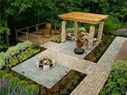 Simple Backyard Landscapes Backyard The Extensive Backyard Designs Backyard Landscape