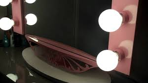 Vanity Mirror With Lights Vanity Hollywood Starlet Mirror Review Youtube