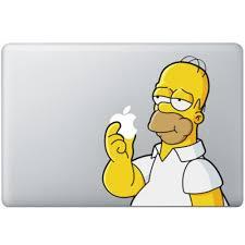 Homer Homer Simpsons Macbook Decal Kongdecals Macbook Decals