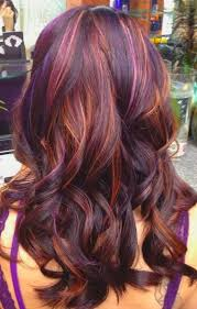 best colors with purple 107 best hiding rainbows in her hair images on pinterest hair