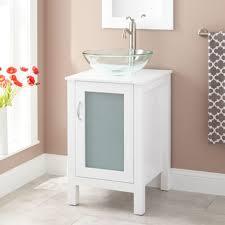 bathroom vanities fabulous vessel sink vanity white bathroom