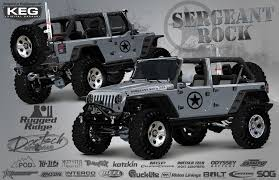 omix ada rugged ridge to debut sergeant rock jeep at off road