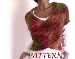 knitting pattern knit sweater cowl vest waistcoat pattern pdf
