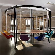 Cool Meeting Table The King Arthur Swing Table Bring The Playground Into The