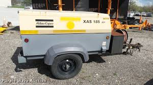 2007 atlas copco air compressor item l2423 sold may 23