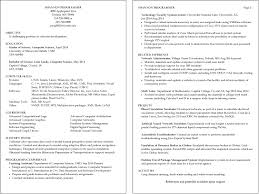 Graphic Design Resume Objective 100 Sample Resume In Java Java Sample Resume Programming