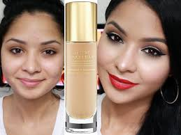 first impression ysl le teint touche eclat foundation oily u0026 acne