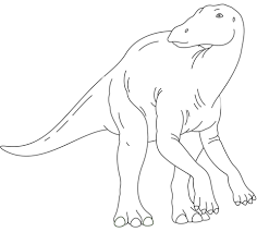 iguanodon coloring pages free coloring pages