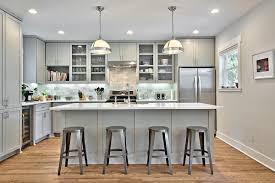 Images Of Kitchens With Oak Cabinets 12 Gorgeous And Bright Light Gray Kitchens Table And Hearth