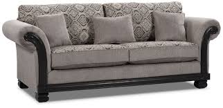 Uncomfortable Couch Hazel Chenille Sofa Grey The Brick
