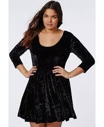 plus size black velvet dress images dresses design ideas