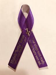 memorial ribbons cross memorial pins personalized ribbon pinned wedding