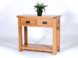 Small Oak Console Table Small Oak Console Table U2013 Launchwith Me