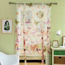aliexpress com buy free shipping sheer modern curtains kitchen