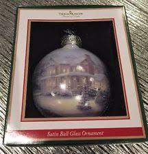 kinkade ornaments ebay