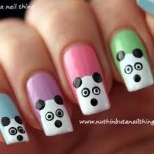 best 25 panda nail art ideas only on pinterest panda bear nails