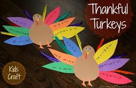 52 weeks of week 41 thankful turkey craft