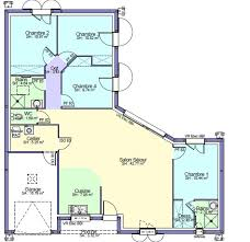 plan maison 4 chambre plan maison 4 chambre m chambres tage vue etage with plan maison 4