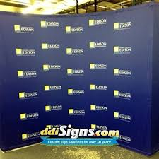 Custom Backdrops Ddi Signs Banners U0026 Press Conference Backdrops U2013 Ddi Signs With