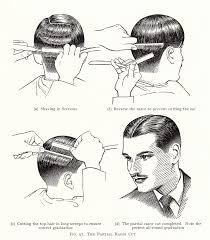 retro wunderland vintage hairstyle tutorial men u0027s razor cut from
