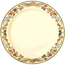 disposable thanksgiving plates occasions 50 pack premium