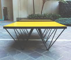 black friday ping pong table an outdoor ping pong table for design lovers design milk