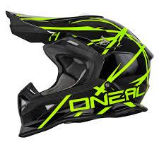 motocross helmet sizing o neal 2series thunderstruck mx motocross helmets black yellow