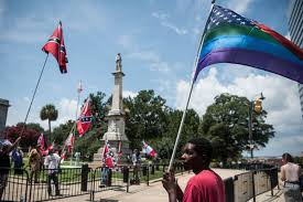Confderate Flag Confederate Flag Raised At South Carolina Statehouse In Protest By