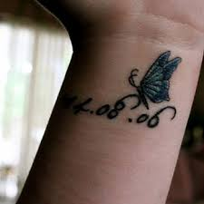 butterfly wrist tattoos the deep representative of life stunstupefy