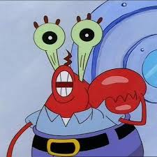 Mr Krabs Meme - mr krabs big eyes blank template imgflip
