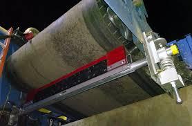 toro reversing belt cleaner asgco conveyor solutions