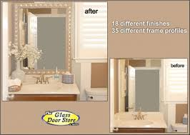 Bathroom Mirror Frames Kits Awesome Mirror Frame Kits For Bathroom Mirrors Intended Plain