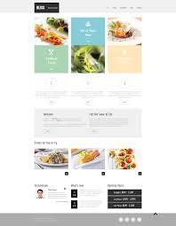 free html5 tmeme for restaurant website